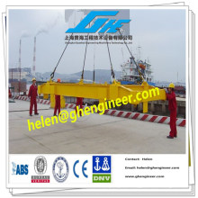 hydraulic telescopic container spreader for 20ft and 40ft container loading