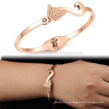 Оптовые продажи & розничные ювелирные изделия Корея женщин способа повелительницы сексуальные кристаллические замороженные покрынные золотом покрынные браслеты продают оптом GH725