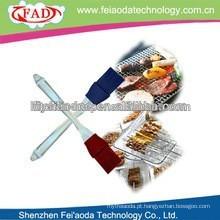 Alta qualidade colorido silicone durável escova escova & pastelaria escova