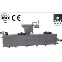 Dlz-320 Máquina de embalagem a vácuo totalmente automática e contínua para alimentos cozidos a vácuo