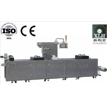 Dlz-320 Full Automatic Continuous Stretch Pork Vacuum Packaging Machine