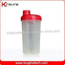 700ml Plastic Protein Shaker Bottle with Filter (KL-7027)
