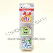 einzelnen Buchstaben Kinder abnehmbare Tafel Aufkleber