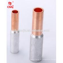 Tubo de conexión bimetálico de la serie GTL (junta de aceite) Conector de crimpado de cobre y aluminio