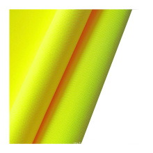 EN20471 100% polyester knitted fluorescent yellow fabric for safety vest