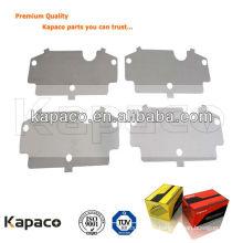 Stainless steel brake pad shim D978