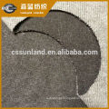 brushed knitted cotton polyester drawn needle fleece fabric for winter clothes