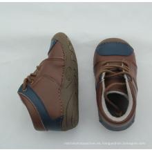 Botas de los zapatos de las botas de los zapatos genuinos del cuero genuino del bebé recién nacido del invierno