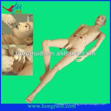 Advanced Medical Full-functional Elderly Male Patient Model médecin masculin modèle de mannequin