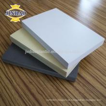 JINBAO 18mm 20mm Pvc-schaumplatte PVC möbelplatte wpc blatt