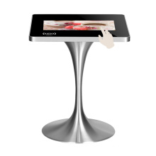 22 Inches multimedia table with touch screen kisok for restaurant