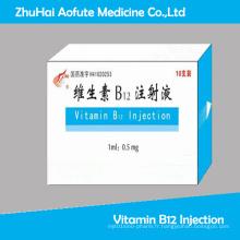 Injection de vitamine B12 GMP approuvée