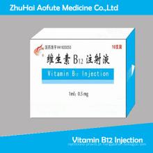 Injeção de Vitamina B12 GMP Aprovado