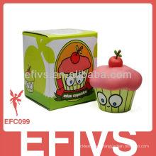 Verde Papel personalizado Impreso Cup Cake Box