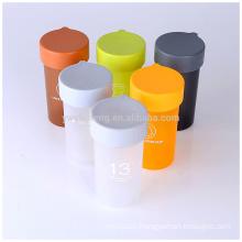 BPA Free Cheap Dull Polish Plastic Water Bottle Custom Logo Printing
