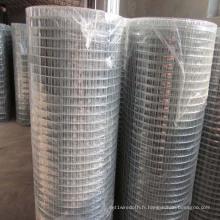 Rouleau de fil métallique soudé à faible teneur en carbone