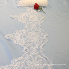 Off White Lace Trim Border Ribbon for Sale