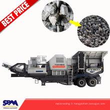 Le minerai de fer, granit application sable machine portable utilisé en Arabie Saoudite
