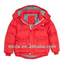 New fashion had a hat on red jacket for child