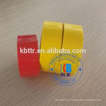 Le matériel en plastique d'étiquette de papier emboutissant imprimer la machine de codage emboutissant à chaud le ruban d'aluminium