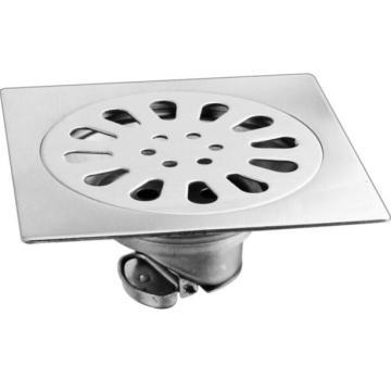 Kitchen Floor Conceals Invisible Floor Drain