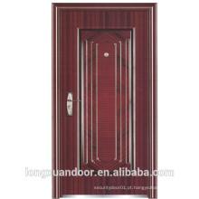 Porta blindada, porta de aço, porta de incêndio exterior