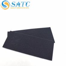 folha de papel de lixamento / lixamento impermeável preta