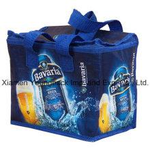 PP promocional no tejido personalizado impreso aislado Cool Bag