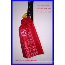 Cubierta del bloqueo del control, bolso de nylon, rojo con CE marcado E91