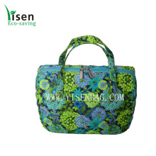 Quilted Cotton Cooler Bag (YSCLB00-096)
