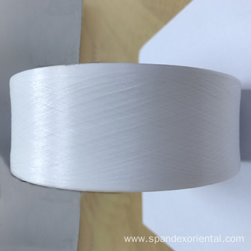 Low temperature thermal spandex
