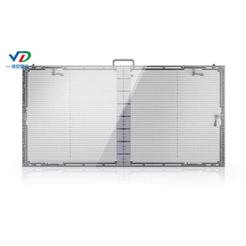 PH5.2-10.4 Transparant LED-display met kast van 1000x500mm