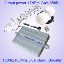 Profesional Home Office GSM / WCDMA / Utms / Lte Amplificador de teléfono celular Mini interior 2g / 3G / 4G Repetidor de señal / Booster