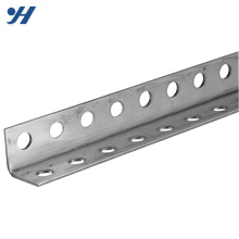 Galvanized V shaped equal types of stainless mild steel slotted angle steel iron bar prices with standard sizes and weights