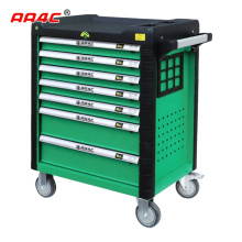 AA4C 243pcs Auto repair Tool cabinet trolley Garage Cabinet tool shelf hardware hand tools auto repair worktable workbench tool