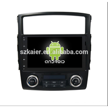 sistema multimedia os6.0car, DVD, radio, bluetooth, 3g / 4g, wifi, SWC, OBD, IPOD, Mirror-link, TV para mitsubishi-pajero