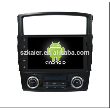 os6.0car système multimédia, DVD, radio, bluetooth, 3g / 4g, wifi, SWC, OBD, IPOD, miroir-lien, TV pour mitsubishi-pajero