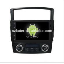 os6.0car sistema multimídia, DVD, rádio, bluetooth, 3G / 4G, wi-fi, SWC, OBD, IPOD, espelho-link, TV para mitsubishi-pajero