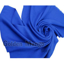 Solid color Twill face 100% silk wool scarf