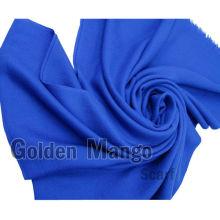 Cara de sarga del color sólido bufanda 100% de lana de seda