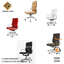 High Quality Colorful Boss Eames Office Leather Chairs (GV-EA219)