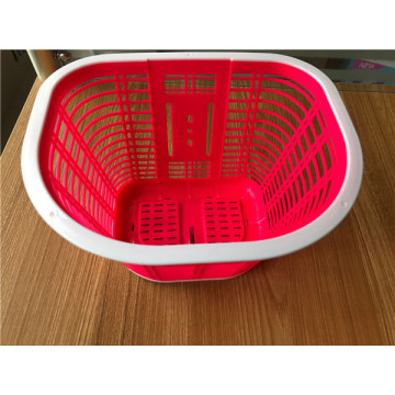 Anyaman Plastik Hangging Bicycle Basket