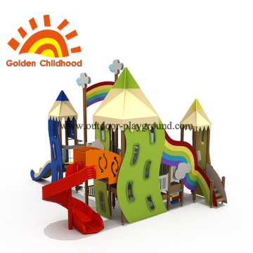 Color Pen Style Outdoor Playground Equipment en venta