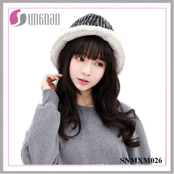 2015 Houndstooth Folding Fisherman Cap Thickened Sun Hats
