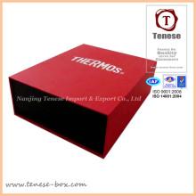 Nueva caja de papel de la tarjeta del diseño con la impresión de punto ULTRAVIOLETA