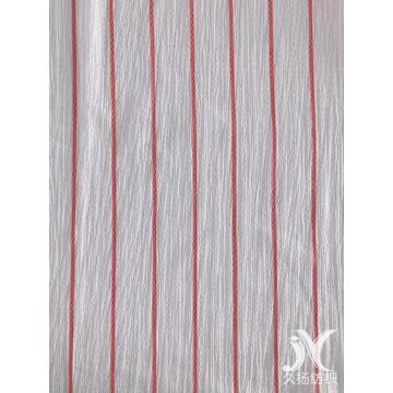 White Stripe Crepe Fabric Strick