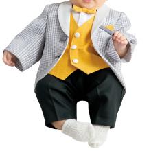 Easy Wearing Jacket with Black Underwear Baby Dress