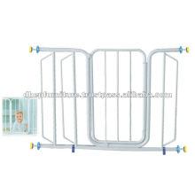 Puerta de seguridad de metal para bebés