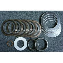 Joints métalliques, joints en spirale, Joints d'articulation, Joints en graphite (SUNWELL SEALS)