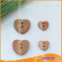 Natural Wooden Buttons for Garment BN8010